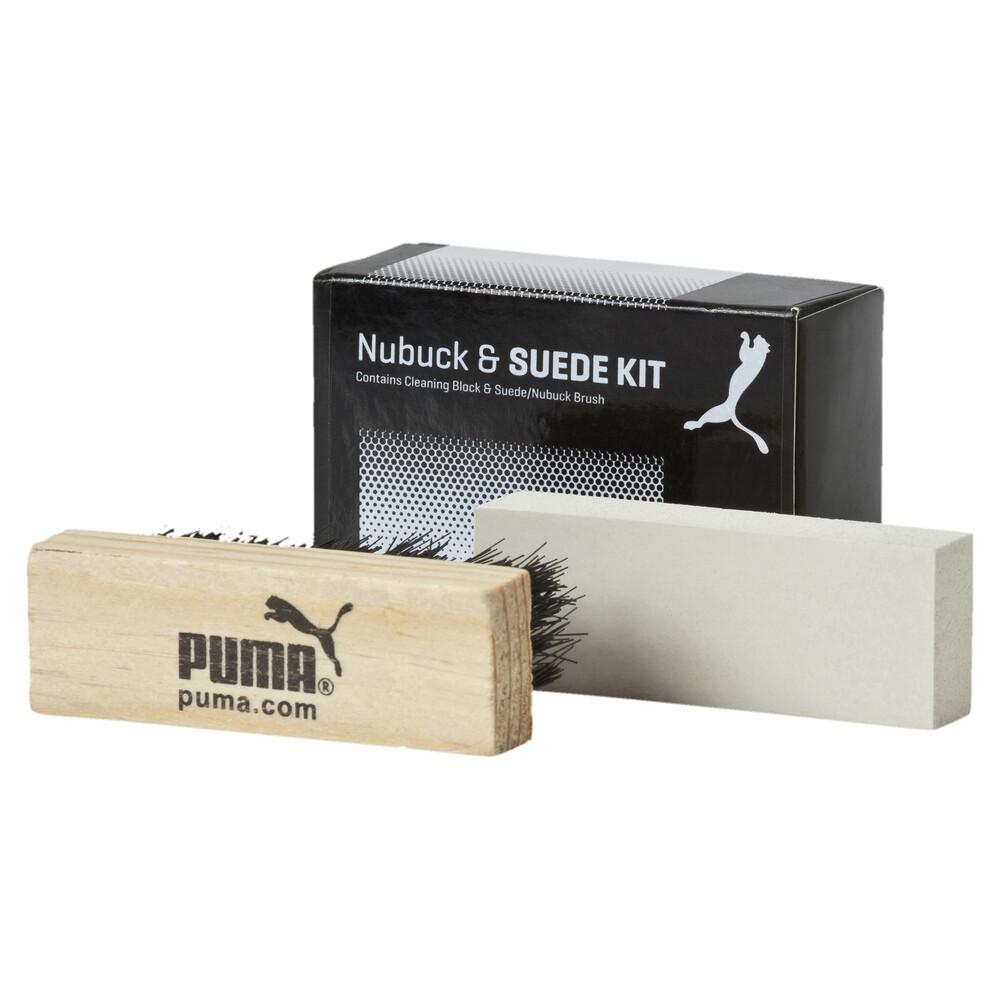 Зображення Puma Набір для чищення нубуку та замші PUMA Shoe Care Block & Brush #1