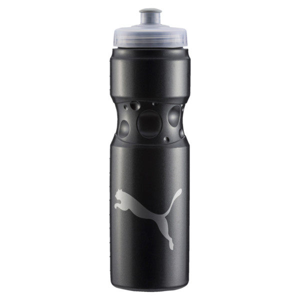 Training Sport Water Bottle, Puma Black, large