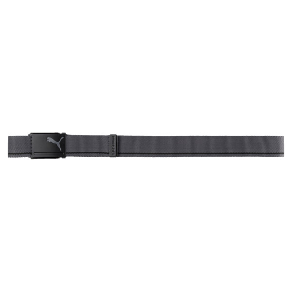 Reversible Web Golf Belt, Puma Black-Quiet Shade, large