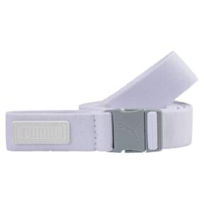 Imagen en miniatura 1 de Cinturón elástico de golf de mujer Ultralite, Bright White, mediana