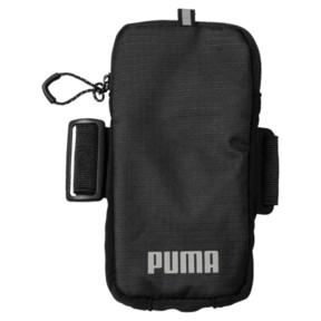 Thumbnail 1 of Running Arm Pocket, Puma Black-Puma Silver, medium