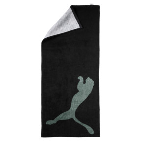 Thumbnail 1 of Training Essential Towel, Puma Black-Laurel Wreath, medium