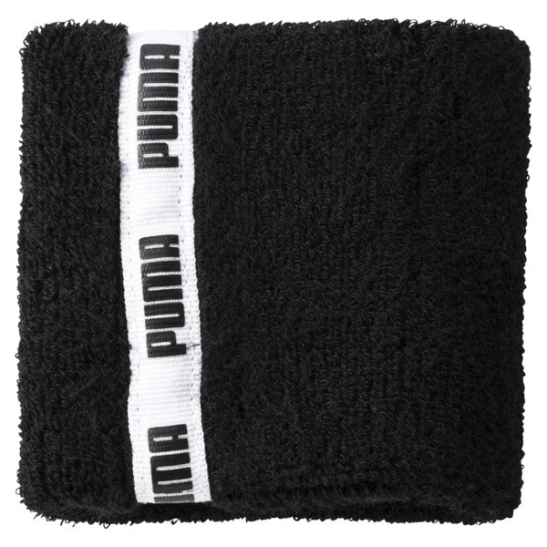 Essential Training Wristbands, Puma Black, large