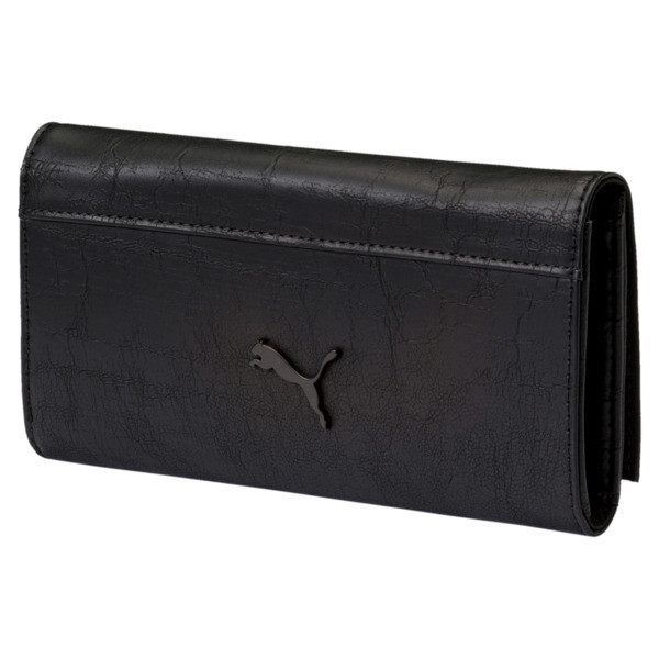 Ferrari Lifestyle Women's Wallet, Puma Black, large