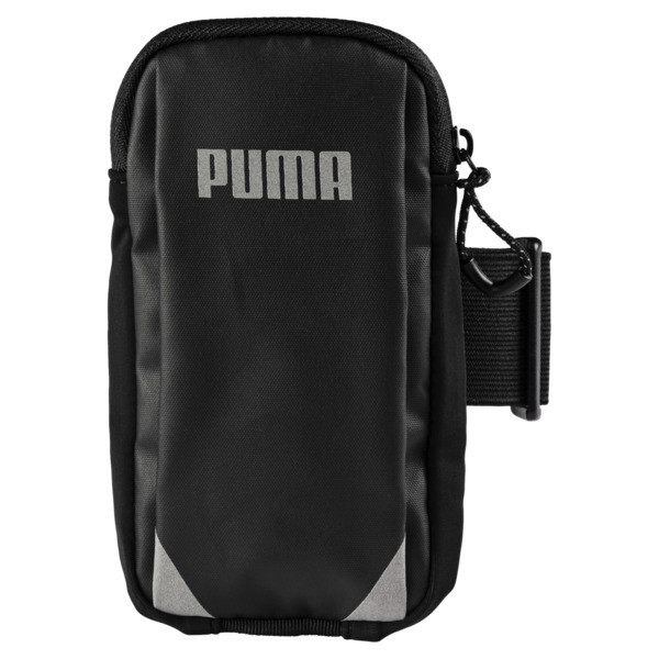 Running Arm Pocket, Puma Black, large