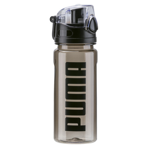 Training Sportstyle Water Bottle, Puma Black, large