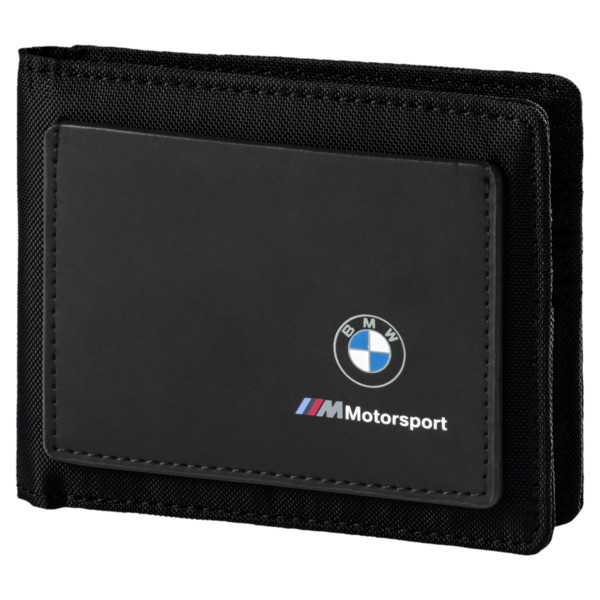 BMW M Motorsport Portemonnaie, Puma Black, large