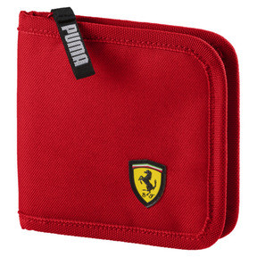Thumbnail 1 of Scuderia Ferrari Fanwear Wallet, Rosso Corsa, medium