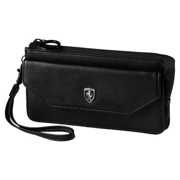 Ferrari Lifestyle Women's Wallet, Puma Black, large