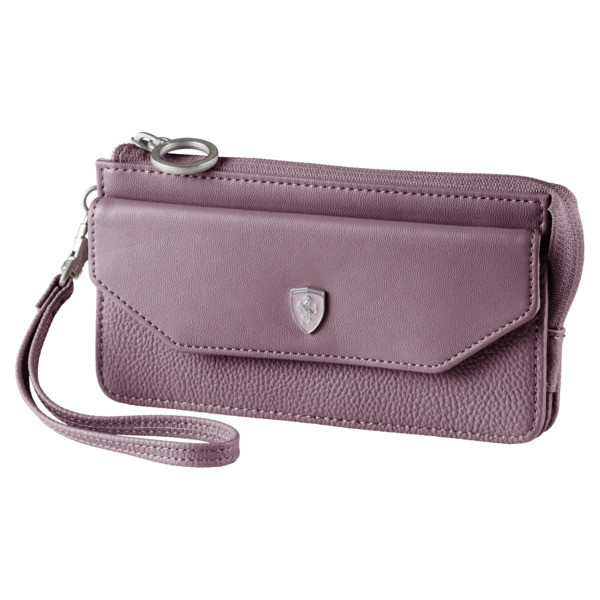 Ferrari Lifestyle Damen Portemonnaie, Elderberry, large