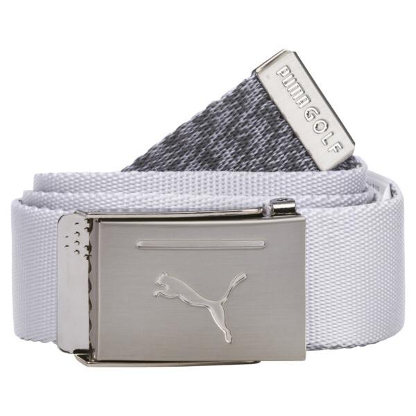 Reversible Web Belt, Bright White, large