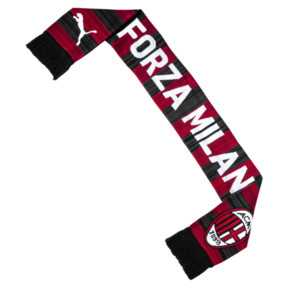 Thumbnail 2 of AC Milan Fan Scarf, Tango Red-Puma Black, medium