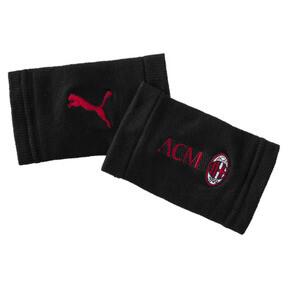 Thumbnail 1 of AC Milan Wristbands, Puma Black-Tango Red, medium