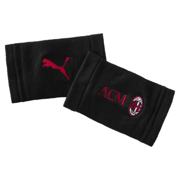 AC Milan Wristbands, Puma Black-Tango Red, large