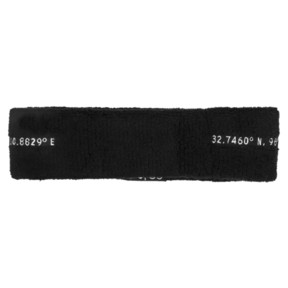 Thumbnail 3 of SG x PUMA Headband, Puma Black-Puma White, medium