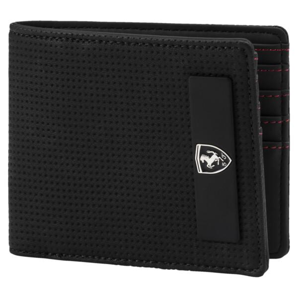 Scuderia Ferrari Lifestyle Wallet, Puma Black, large