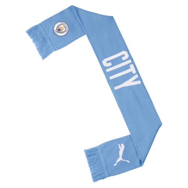Man City DNA fansjaal, Team Light Blue-Puma White, large
