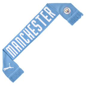 Thumbnail 1 van Man City DNA fansjaal, Team Light Blue-Puma White, medium