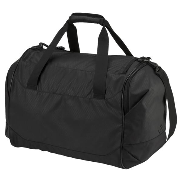 Training Medium Sports Bag, Puma Black-Puma Black, large