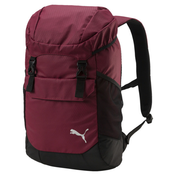 Training Daily Backpack, Pomegranate-Puma Black, large
