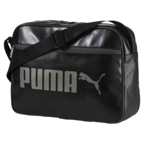 Thumbnail 1 of Campus Reporter Bag, Puma Black, medium