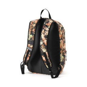 Thumbnail 2 of Academy Backpack, Puma Black-Leave AOP, medium