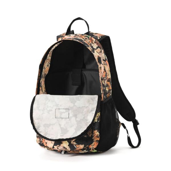 Academy Backpack, Puma Black-Leave AOP, large