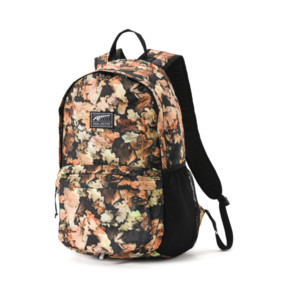 Thumbnail 1 of Academy Backpack, Puma Black-Leave AOP, medium