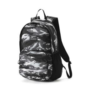 Thumbnail 1 of Academy Backpack, Puma Black-Camo AOP, medium