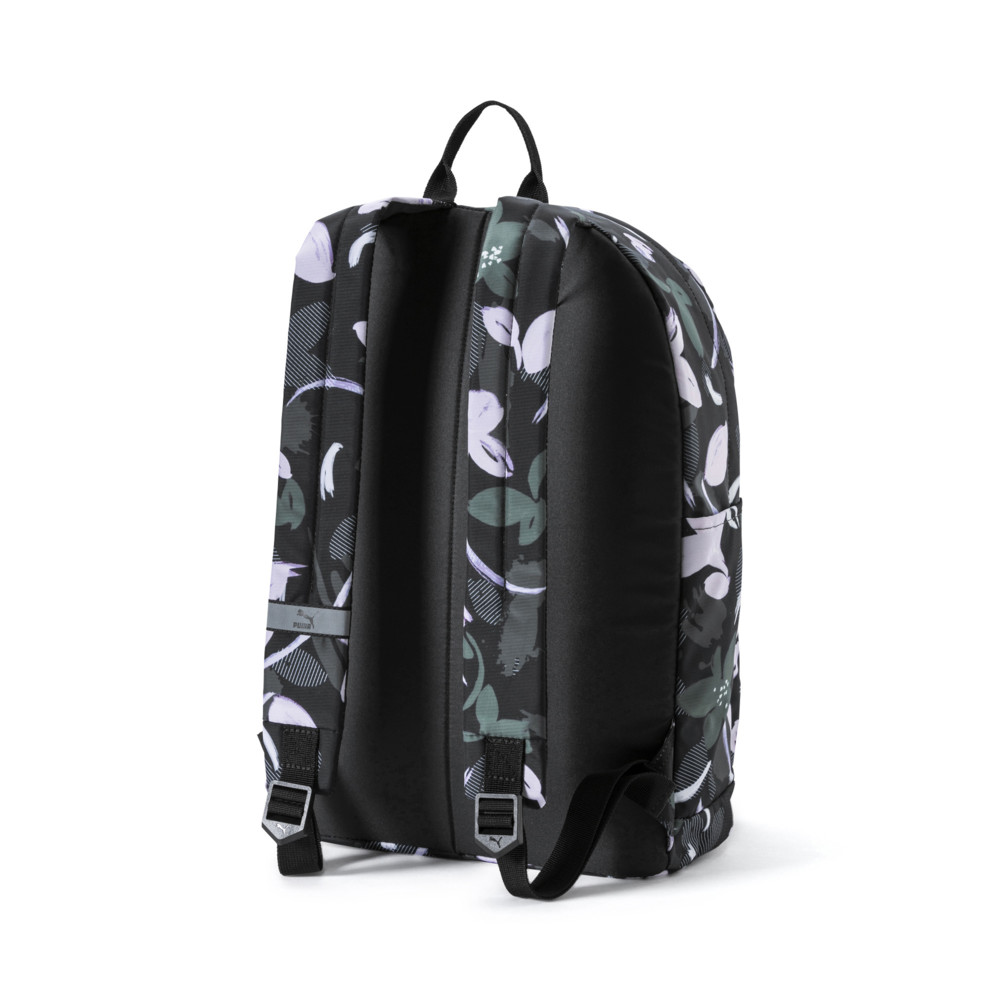 Купить Сумки, PUMA - Рюкзак Originals Backpack – Puma Black-floral print – OSFA