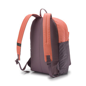 Thumbnail 2 of Originals Backpack, Elderberry-Bright Peach, medium