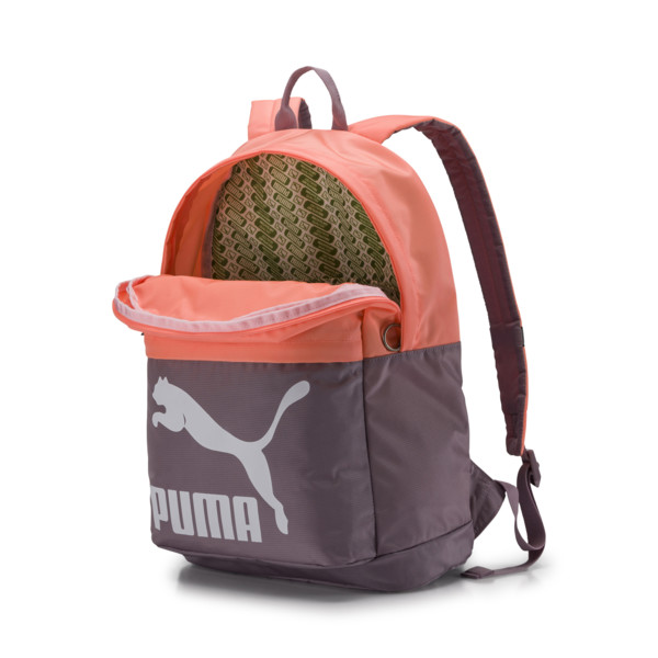 Originals Backpack, Elderberry-Bright Peach, large