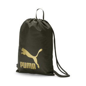 Thumbnail 1 of Originals Gym Bag, Forest Night-Gold, medium