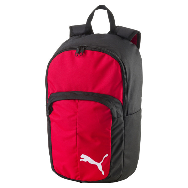 Football Pro Training II Backpack, Puma Red-Puma Black, large