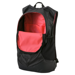 Thumbnail 3 of Football Final Pro Backpack, Puma Black-Fiery Coral, medium