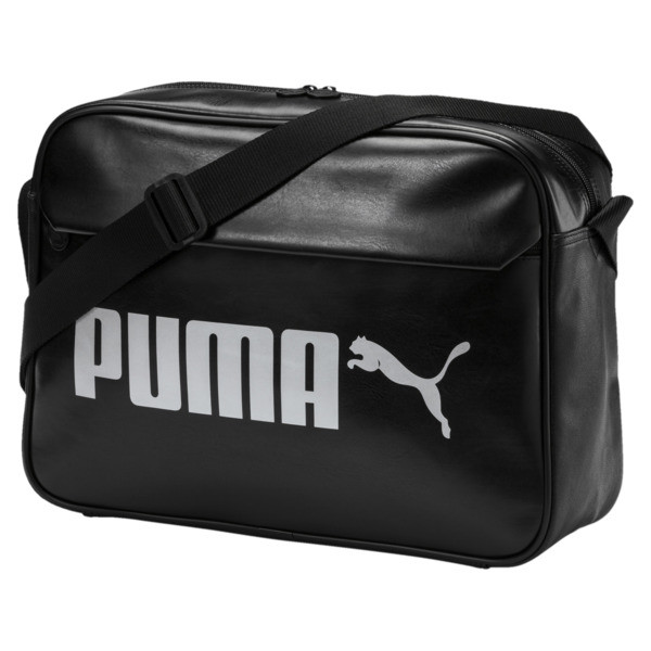 Campus Reporter Bag, Puma Black, large