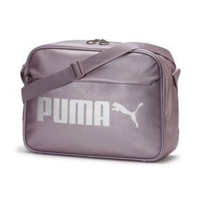 a5891da30090c Campus Reporter Bag Podgląd · Campus Reporter Bag, Elderberry-Puma Silver- metal ...
