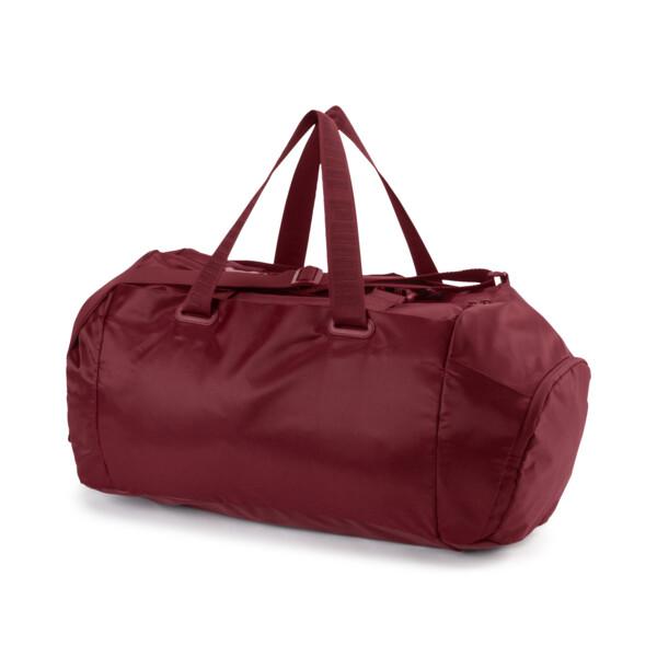 Active Training Women's Sports Duffel Bag, Pomegranate-gunmetal, large