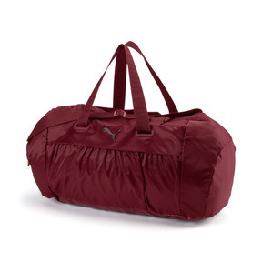 Thumbnail 1 of Active Training Women's Sports Duffle Bag, Pomegranate-gunmetal, medium