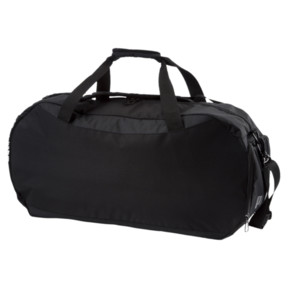 Thumbnail 2 of Gym Medium Duffle Bag, Puma Black-Puma Black, medium