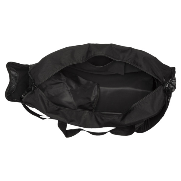 Gym Medium Duffle Bag, Puma Black-Puma Black, large