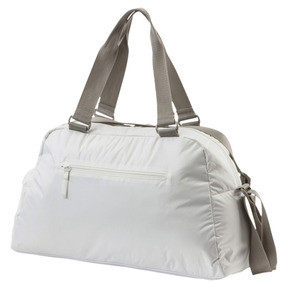 Thumbnail 2 of En Pointe Sports Bag, Puma White-Rock Ridge, medium