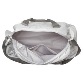 Thumbnail 3 of En Pointe Sports Bag, Puma White-Rock Ridge, medium