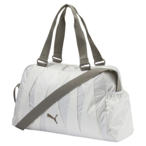 Thumbnail 1 of En Pointe Sports Bag, Puma White-Rock Ridge, medium
