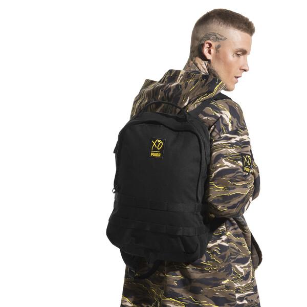 PUMA x XO Backpack, Puma Black, large