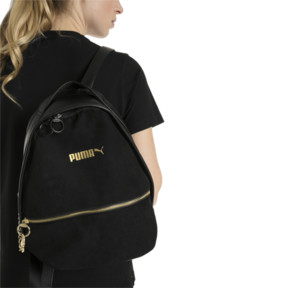 Thumbnail 4 of Archive Suede Women's Backpack, Puma Black, medium