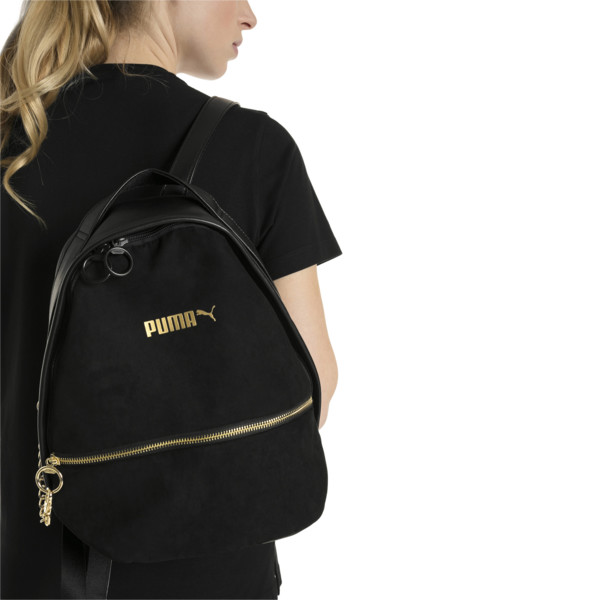 Archive Suede Women's Backpack, Puma Black, large