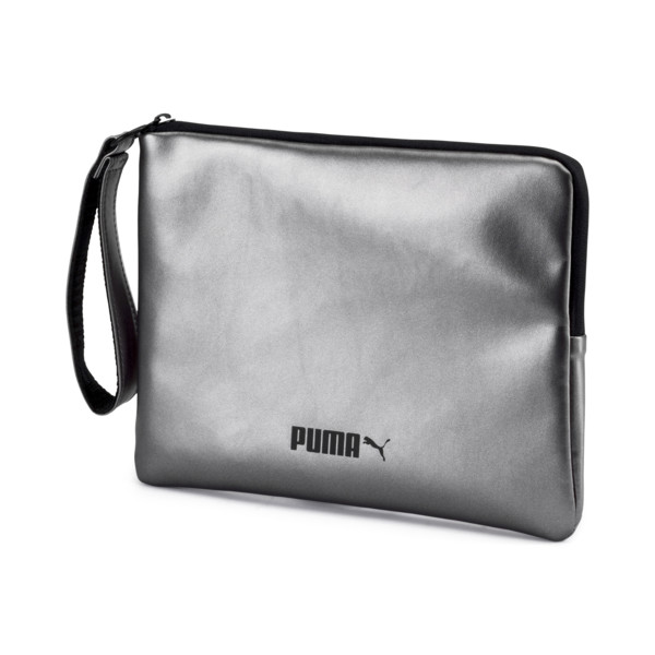 Classics Women's Pouch, Silver, large