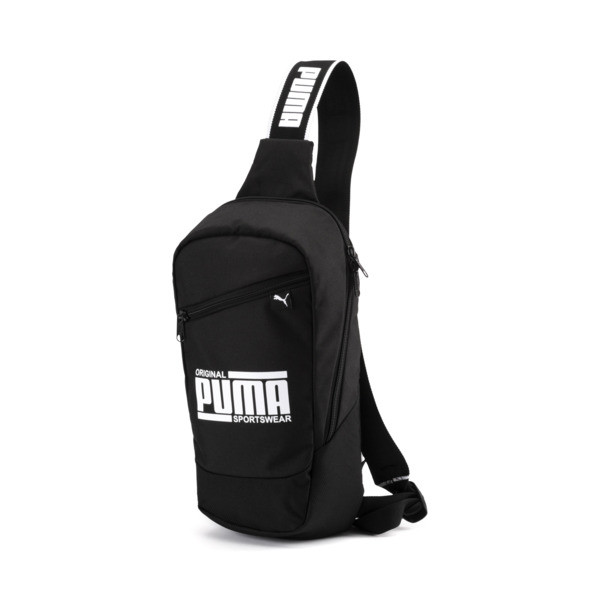 PUMA Sole Cross Body Bag, Puma Black, large
