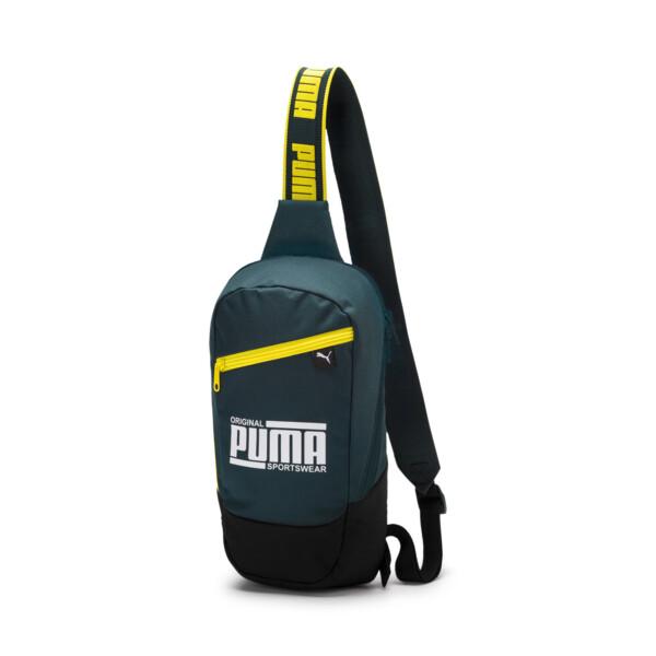 PUMA Sole Cross Body Bag, Ponderosa Pine-Yellow, large